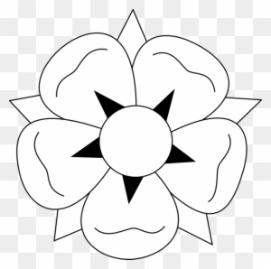 Flower Clipart Black And White Transparent Png Clipart Images Free