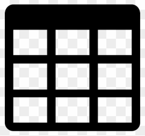 Little Table Grid Comments Table Icon Free Transparent Png
