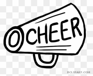 Cheerleader Megaphone Png Clipart Cheerleading Megaphone - House Silhouette  Transparent Background - Free Transparent PNG Clipart Images Download