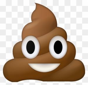 Poop Poop Emoji Transparent Background