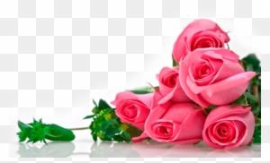 Rose White Flower Bouquet Green Wallpaper Five White Good Morning
