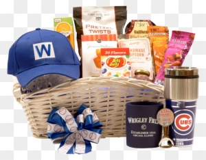 Deluxe Chicago Cubs Gift Basket - Deluxe Chicago Cubs Gift Basket