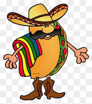 Mexican Clip Art Girl From Mexico Clipart Clipart Kid - Imagenes De Un Taco  Con Sombrero 5a604f247c1