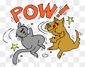 Show Clipart Animals Cartoons A G Dogs Fighting Over Cat And Dog Fighting Cartoon Free Transparent Png Clipart Images Download