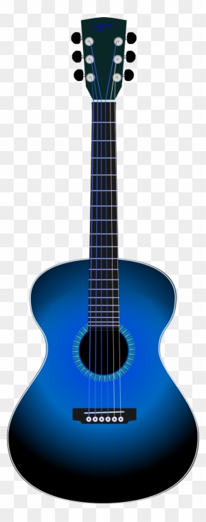 Guitar Line Drawing Clipart - Guitar Black And White - Free Transparent PNG  Clipart Images Download