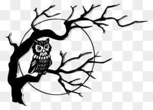 Narra Tree Clipart Black And White - Tree Drawing Black ...