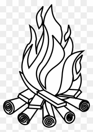 Fire Clipart Black And White Transparent Clipart Images Free
