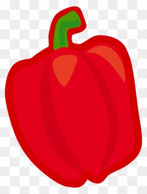 Onlinelabels Clip Art - Red Fruits And Vegetables Clipart ...  Onlinelabels Cl...
