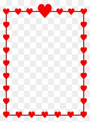Valentines Day Border Clip Art Transparent Png Clipart Images Free