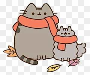 Image of: Unicorn Pusheen Kawaii Cute Fall Autumn Leaves Tumblrfreetoedit Pusheen Autumn Sweet Sardinia Pusheencat Pusheen Cute Kawaii Stickersalma Mermaid Pusheen Cat