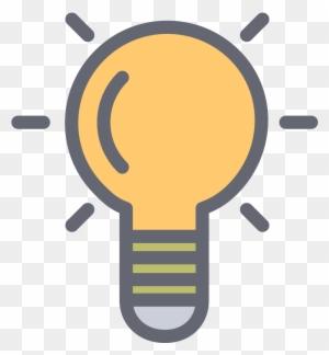 Idea Clipart Lampu Lampu Flat Design Png Free Transparent Png Clipart Images Download