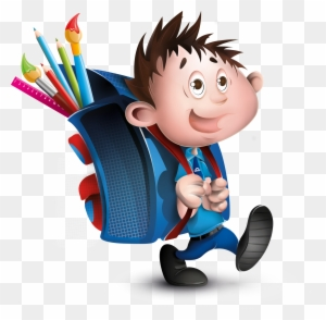 Student Education School Child Drawing Go School Cartoon Free Transparent Png Clipart Images Download