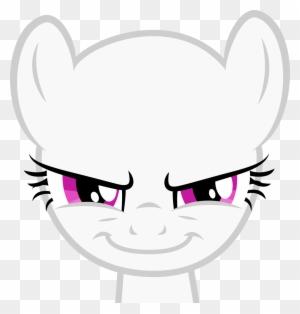 Anime Mad Symbol Mlp Evil Pegasus Base Free Transparent Png