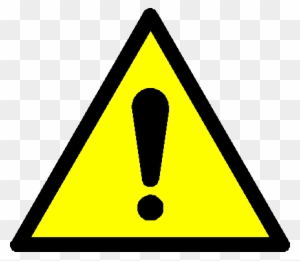 General Warning Action - Yellow Triangle With Exclamation ...