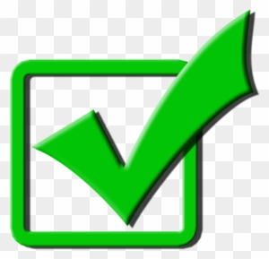 Light Green Check - Green Check Clipart (#612667) - PinClipart