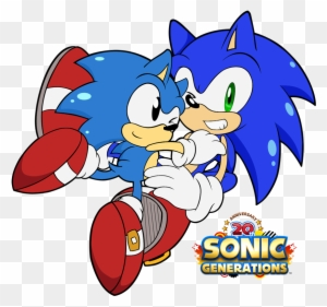 Sonic Generations Classic Sonic Cute Classic Sonic The Hedgehog Free Transparent Png Clipart Images Download
