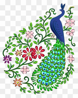 Peacock Drawing Draw A Beautiful Peacock Free Transparent Png Clipart Images Download