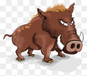 Wild Boar Clip Art - Wild Boar Clipart - Free Transparent PNG Clipart  Images Download