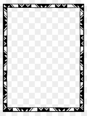Simple Frames Design Black Black And White Frames Border Design