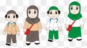 Cartoon Child Clip Art Kartun Anak Tk Free Transparent Png Clipart Images Download