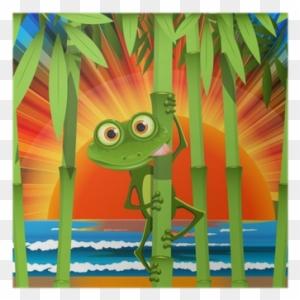 Cartoon Frosch Beach Clipart Frog Free Transparent Png Clipart