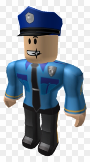 Police Builderman Roblox Free Transparent Png Clipart Images