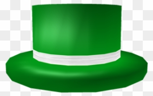 Buying The New Green Top Hat With White Band On Roblox Green Top Hat With White Band Roblox Green Top Hat With White Band Free Transparent Png Clipart Images Download