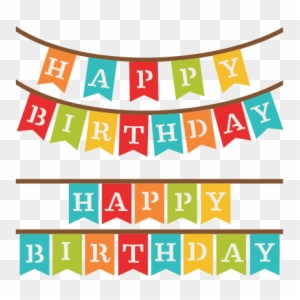 happy birthday banner clipart transparent png clipart images free