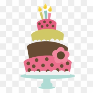 Birthday Cake Svg Cut File For Cutting Machines