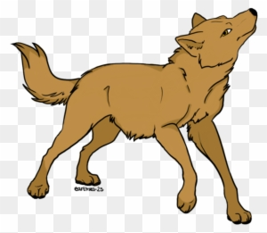 Dog Red Fox Drawing Clip Art Brown Wolf Drawing Free Transparent