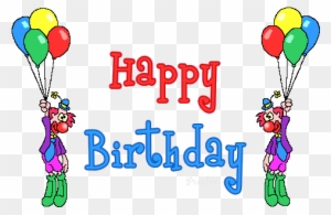 Happy Birthday Dance Animated Gif Free Transparent Png Clipart Images Download