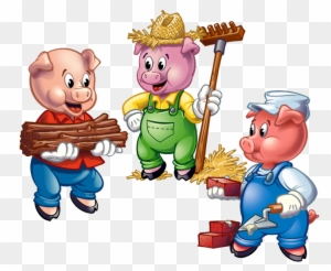 Three Little Pigs Wood House Free Transparent Png