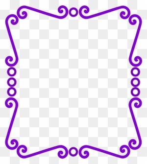 Scrolly Frame Clip Art At Clker Princess Sofia Frame Png Free
