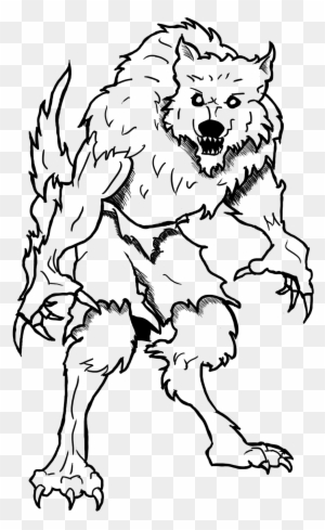 Goosebumps Coloring Book Christmas Number Coloring Werewolf