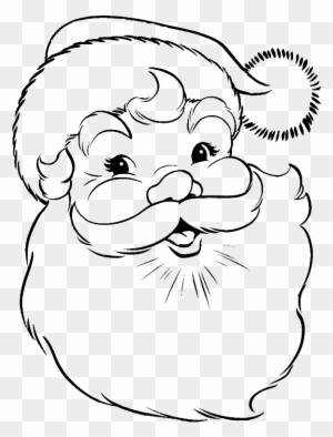 santa claus face coloring pages face of santa claus draw santa claus face free transparent png clipart images download