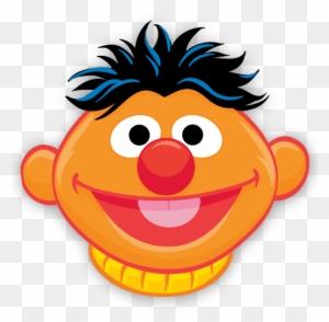 Ernie Face Template - Sesame Street Face Templates - Free ...  Sesame