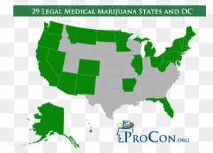 Map Of Us State Cannabis Laws Marijuana Legalization Map 2018