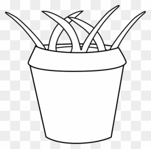 Flower pot clipart black and white transparent png clipart images black and white flower pot with weeds pot black and white mightylinksfo