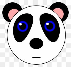 Panda Bear Animal Cute Black White Gambar Kartun Lucu Hitam Putih Free Transparent Png Clipart Images Download