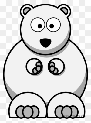 Small Bear Animal Free Black White Clipart Images Clipartblack