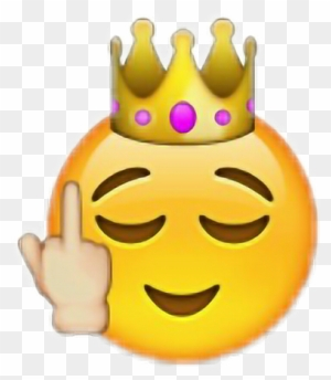 Emoji Fuck Emoticon Iphone Apple Told You So Emoji Free Transparent Png Clipart Images Download