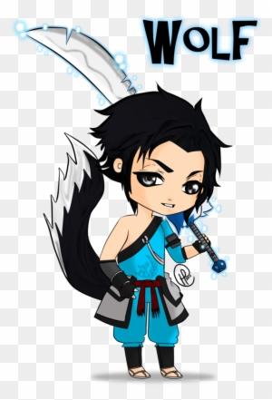 Anime Wolf Boy Chibi Cute Anime Wolf Boy Cute Boy Chibi Anime Boy