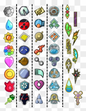 Toxic Badge Roblox Simple Kalos Region Badges By Marilltachiquin Pokemon X And Y Badges Free Transparent Png Clipart Images Download