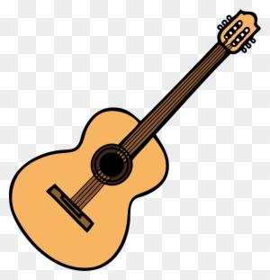 Acoustic Guitar Clipart Transparent Png Clipart Images Free