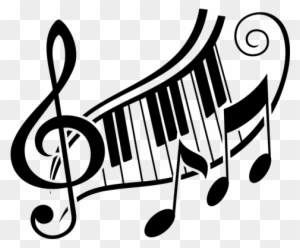 Piano Notes Clipart, Transparent PNG Clipart Images Free