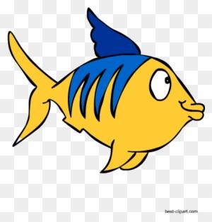 Colorful Fish Marine Animal Free Clipart
