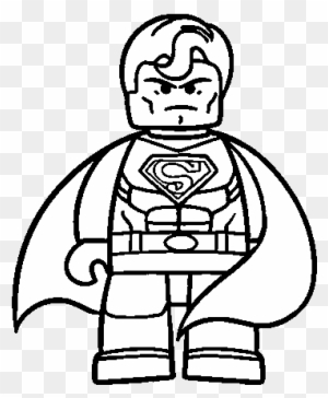 Lego Superman Coloring Pages To Print For Kids Superman Lego Para Colorear Free Transparent Png Clipart Images Download