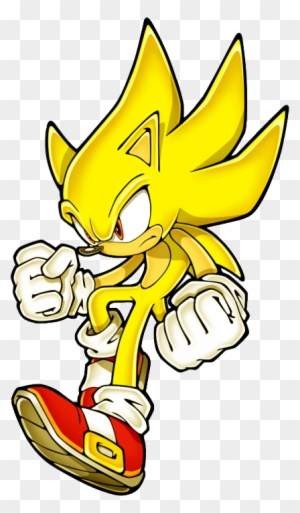 Zoom Super Sonic The Hedgehog Free Transparent Png Clipart Images Download