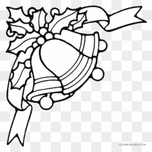 Bell Coloring Page - Line Art , Transparent Cartoon, Free Cliparts ... | 300x300
