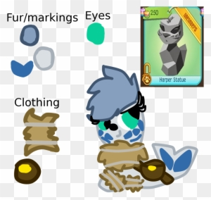 Image of: Cosmo Harper The Seal Alpha By Roseyicywolf Animal Jam Alphas Harper Clipartmax Harper The Seal Alpha By Roseyicywolf Animal Jam Alphas Harper
